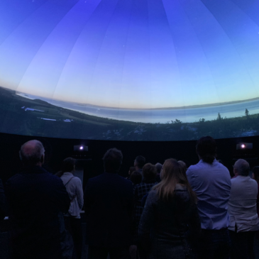 Immersive 360 Degrees Projection Dome with Solotech