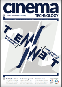 September 2020 Edition of Cinema Technology Magazine Now Available Online