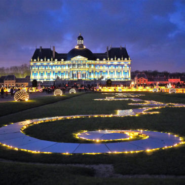 Digital Projection Lights Up Historic French Château for Christmas
