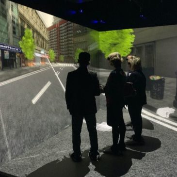 Antycip Simulation VR CAVE Brings State-of-the-Art Immersive Technology to Phidias Lab