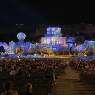 Turandot premiere at quarry opera inspires with PIXERA